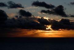 Abend vor Helgoland