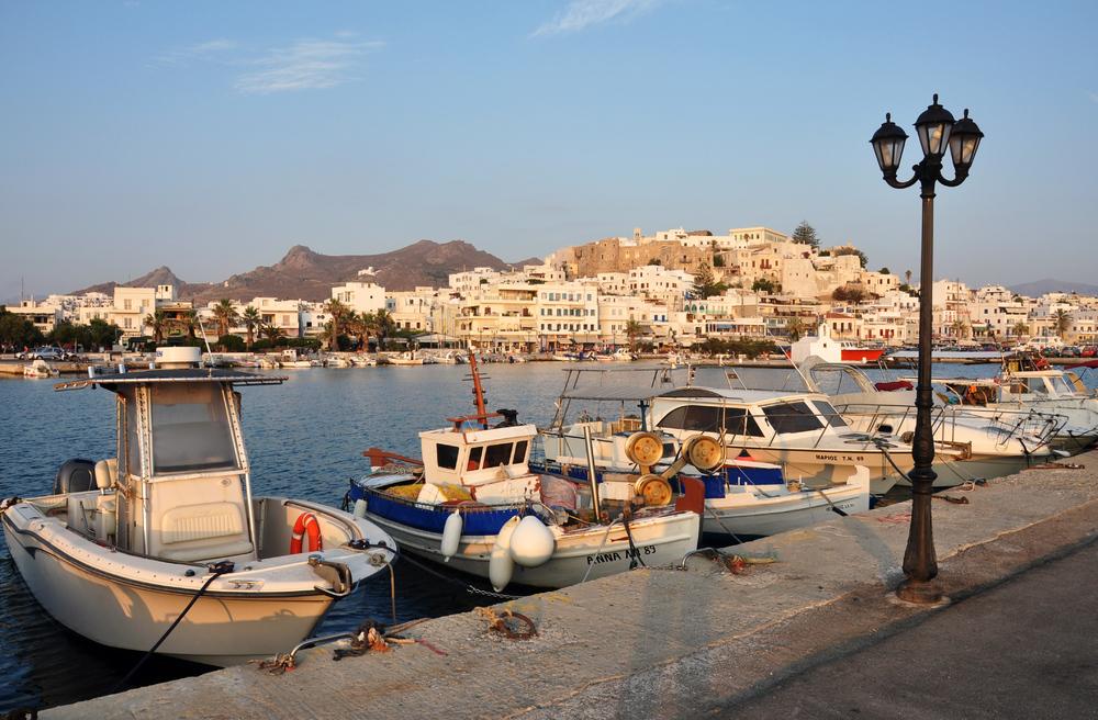 Abendblick auf Naxos...