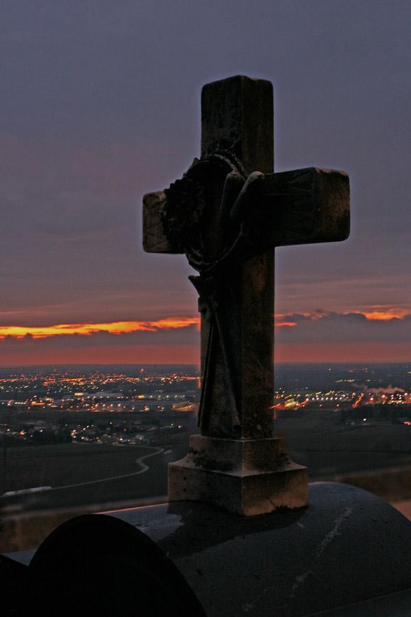 Abendblick vom Bogenberg
