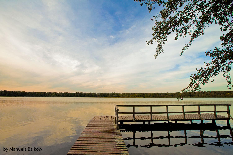 Abenddämmerung am Köthener See