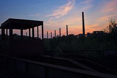 Abenddämmerung über Zollverein