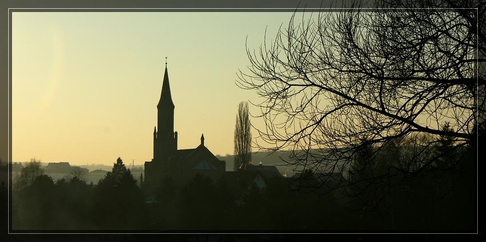 Abenddunst über Sponheim