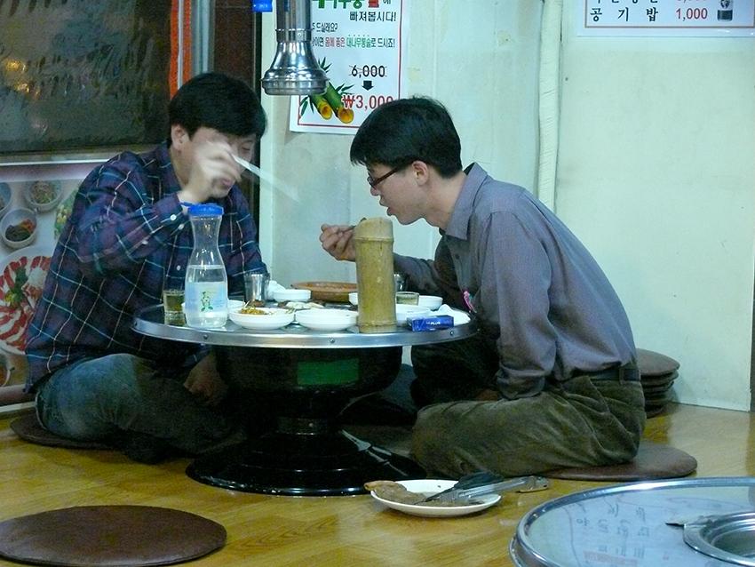 Abendessen in Korea -2