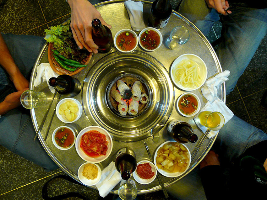 Abendessen in Korea -3