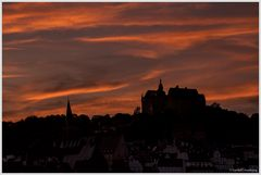 Abendgruß aus Marburg