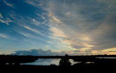 Abendhimmel über Dänemark - 1