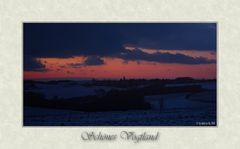 Abendhimmel über Reinsdorf