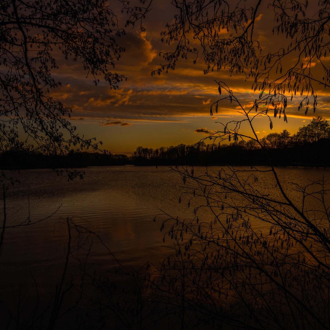 Abendidyll am See
