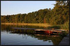 ...Abendidylle am See...