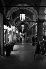 Abendliche Colonnaden