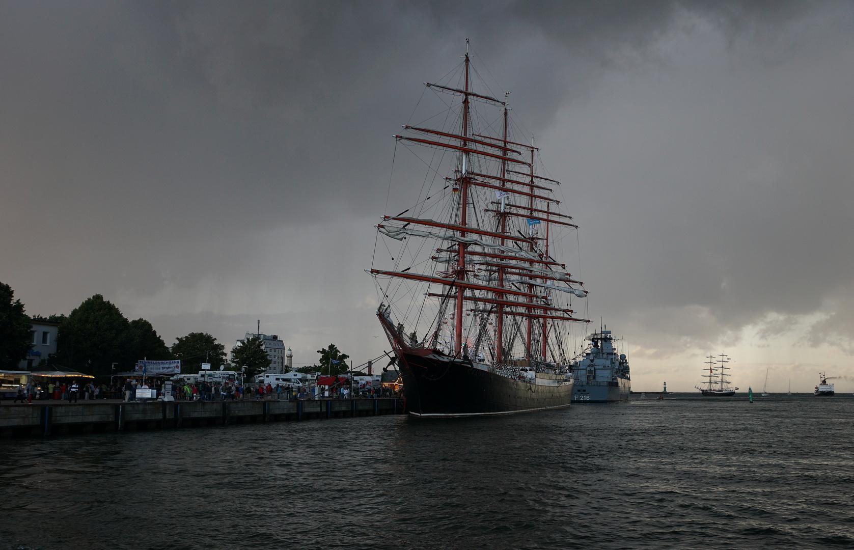 Abendliche Impressionen Hanse Sail Teil III