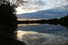 Abendliche Ruhe am See
