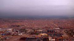 Abendlicher Blick auf Lima 2