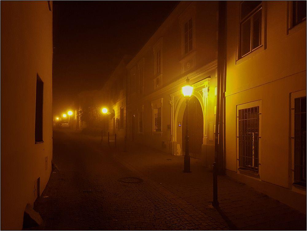Abendlicher Heimweg