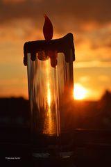 Abendlicher Lichtblick