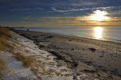 Abendlicher Ostseestrand