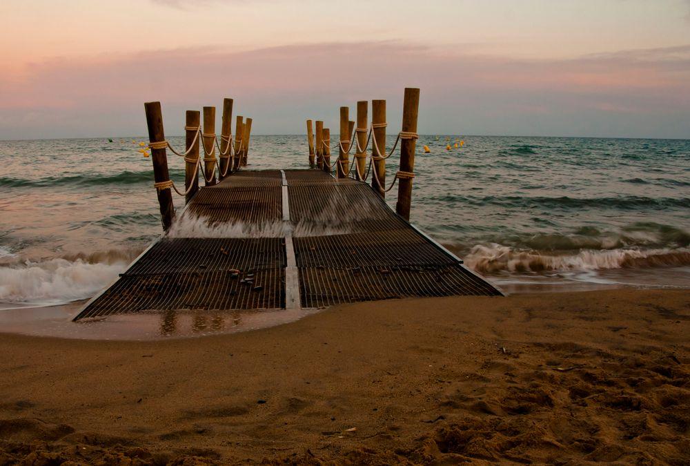Abendliches Meer