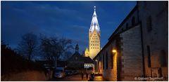 Abendliches Paderborn