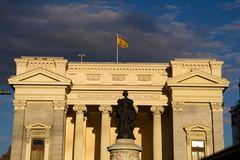 Abendlicht am Prado, Madrid