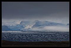 Abendlicht am Vatnajökull
