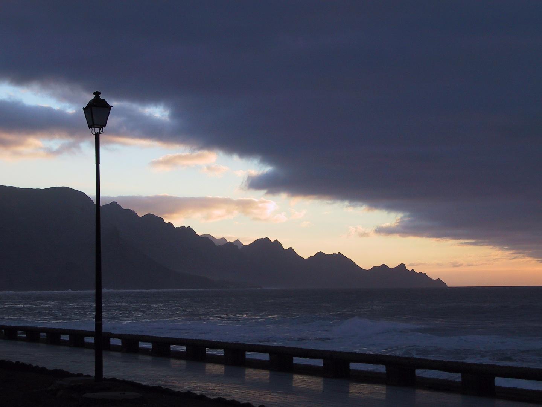 Abendlicht an der Promenade