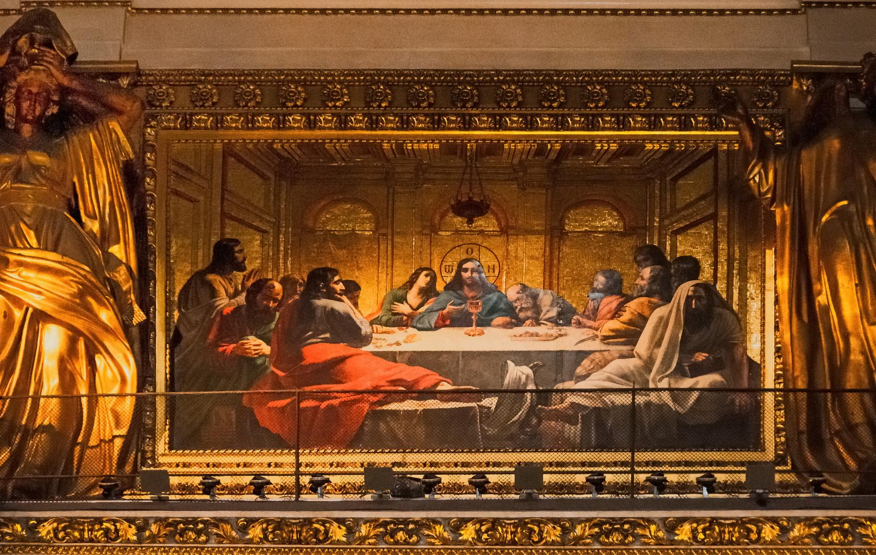 Abendmahl in der Isaakskathedrale