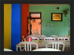 Abendmahl und Farbenfreudigkeit