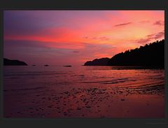 Abendrot auf Macleod Island