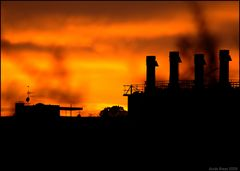 Abendrot - Industrie