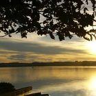 Abendruhe  am See