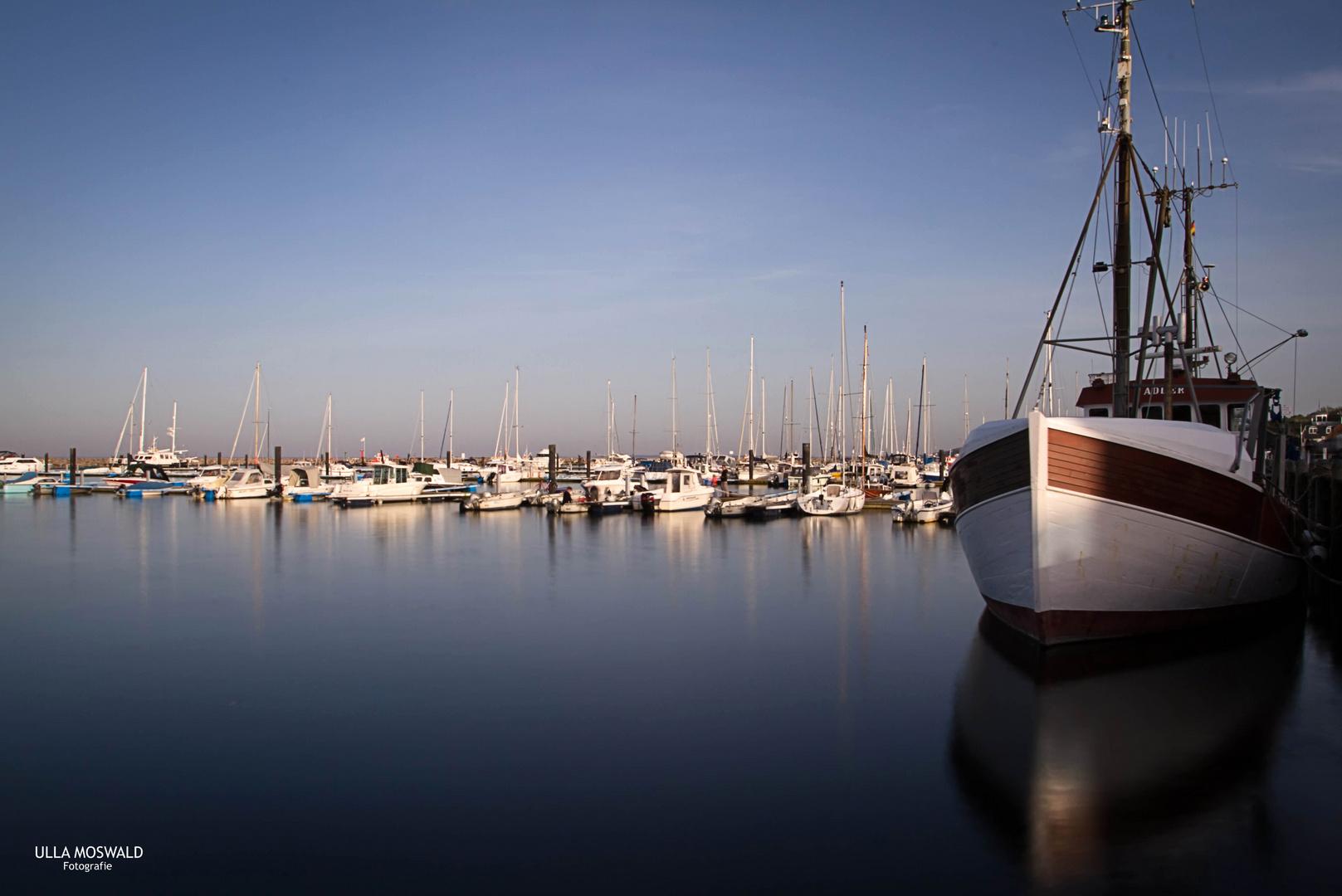Abendruhe im Hafen