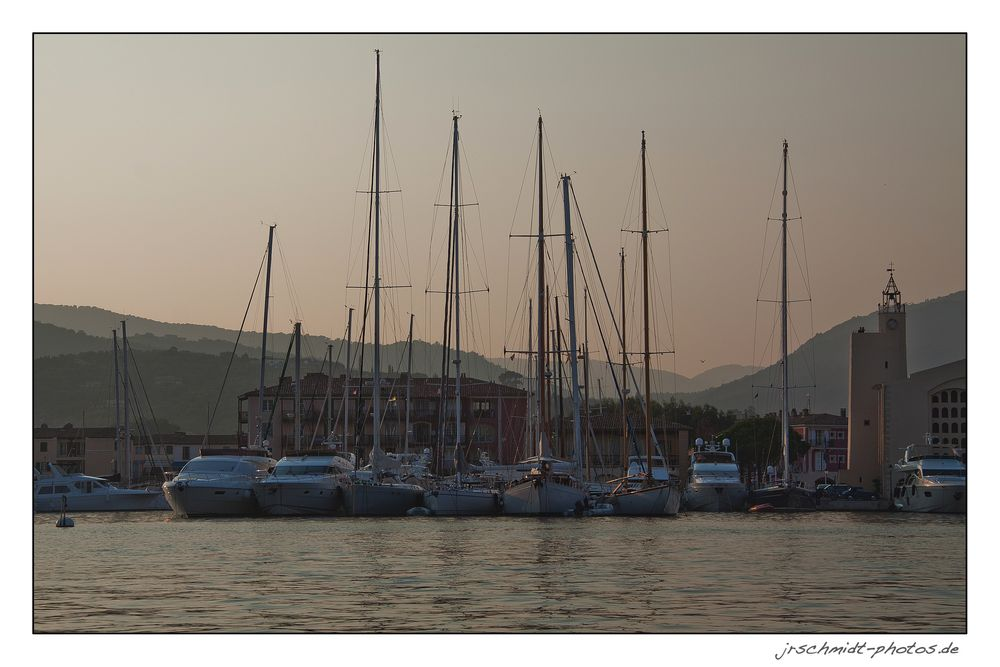 Abendruhe in Port Grimaud...