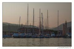 Abendruhe in Port Grimaud...