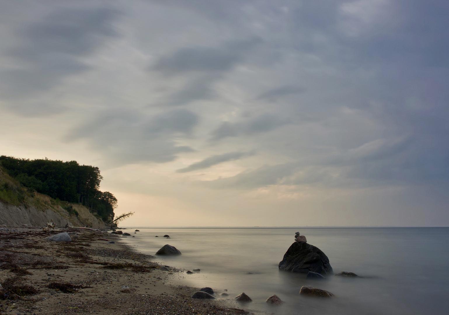 Abends am Brodtener Ufer