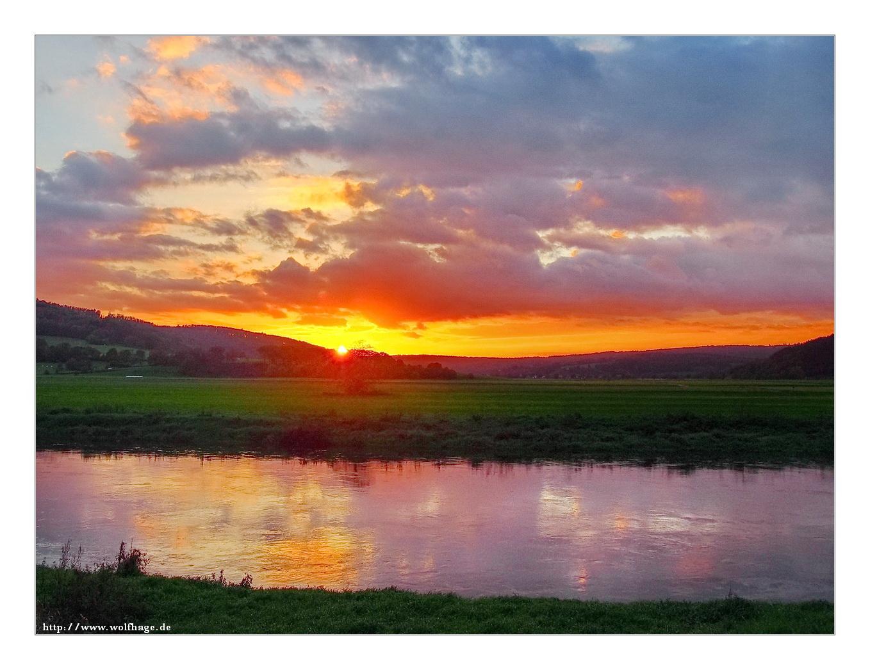 Abends am Fluss....