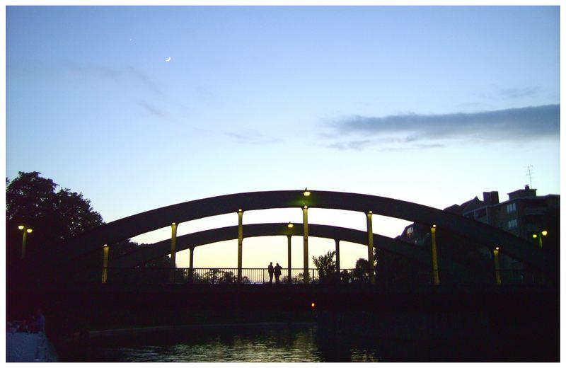 Abends am Fluss...
