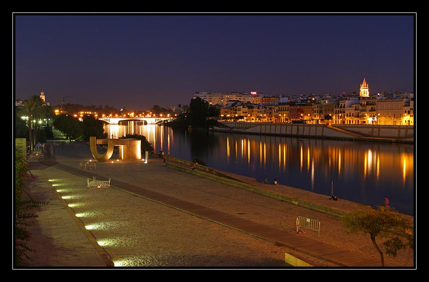 Abends am Guadalquivir