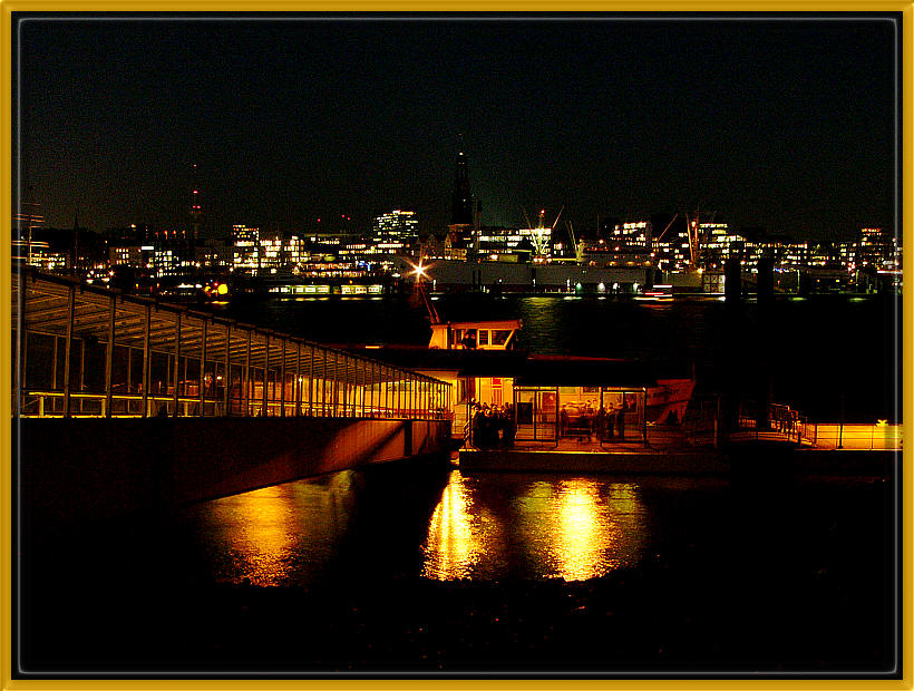 Abends am Hafen!