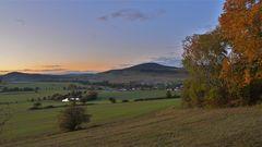 """Abends am Hutsberg (por la tarde en la montaña """"Hutsberg"""")"""