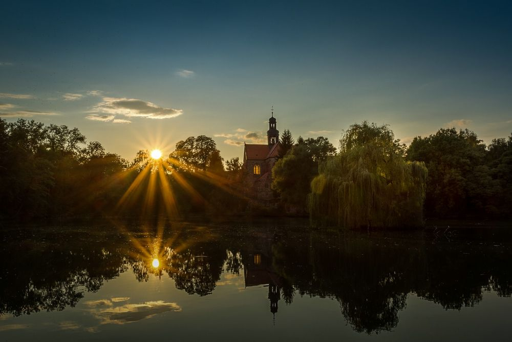 Abends am Kloster Marienrode