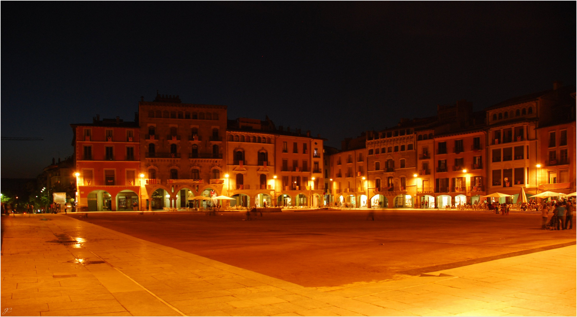 Abends am Markplatz