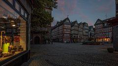 Abends am Marktplatz...