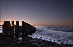 Abends am Meer
