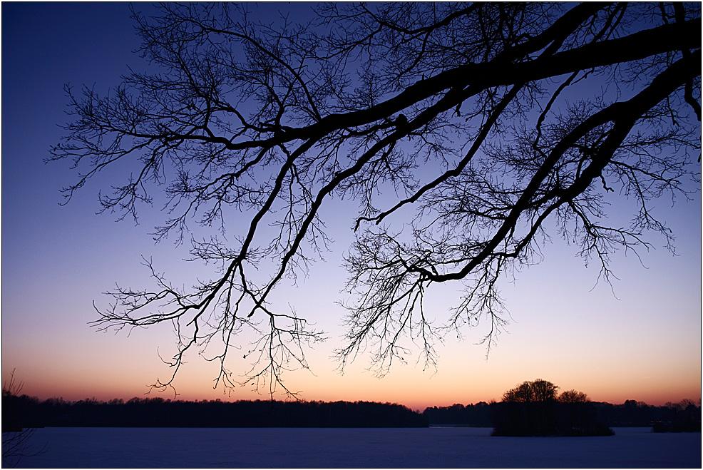 Abends am Moritzburger Teich