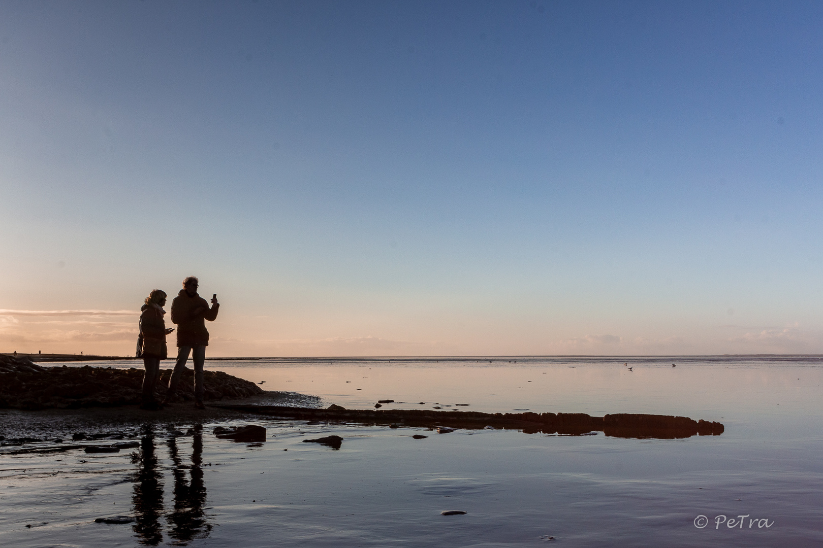 Abends am Nordseestrand