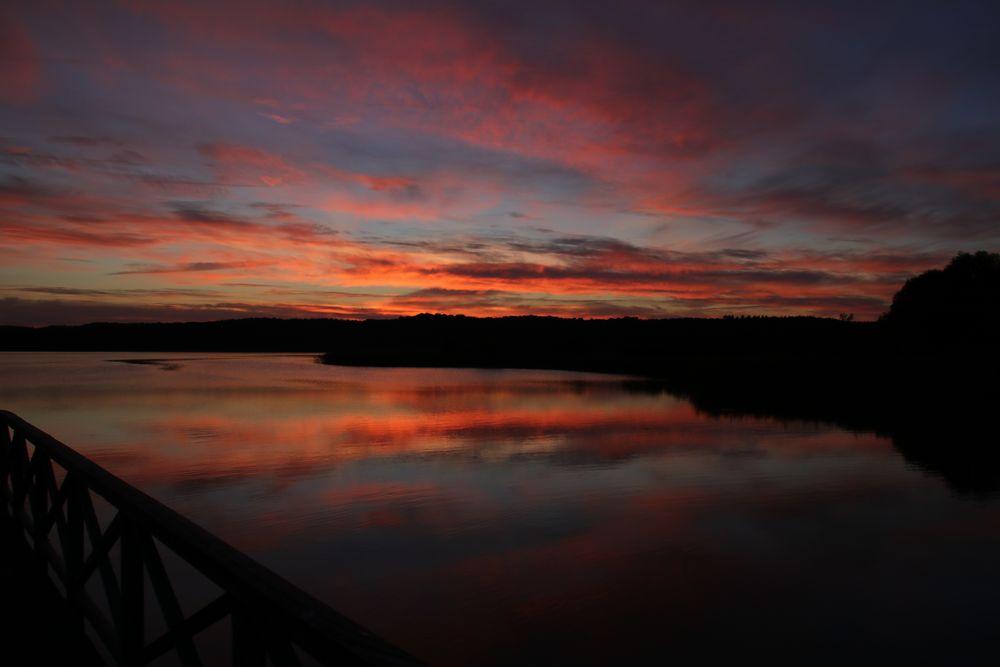 Abends am Schmachter See