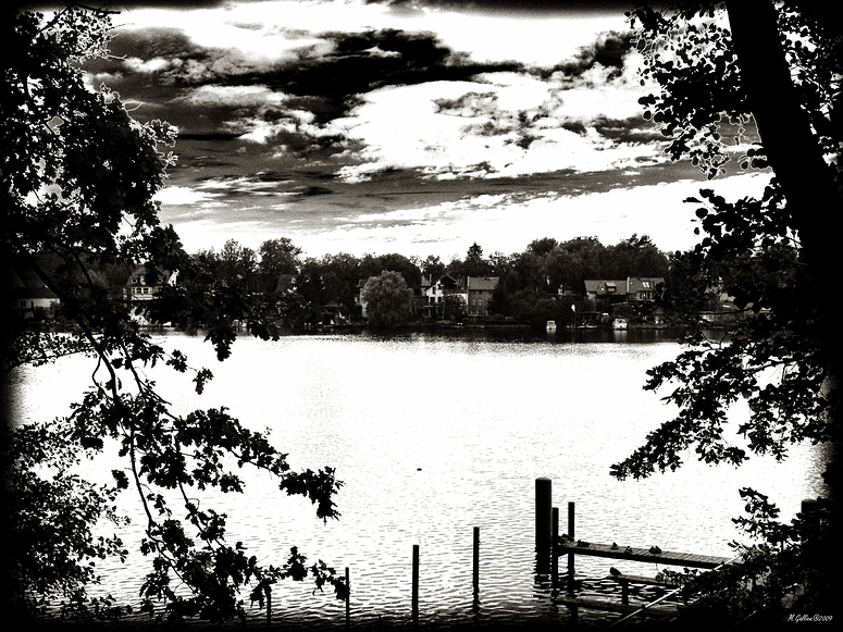 Abends am See....