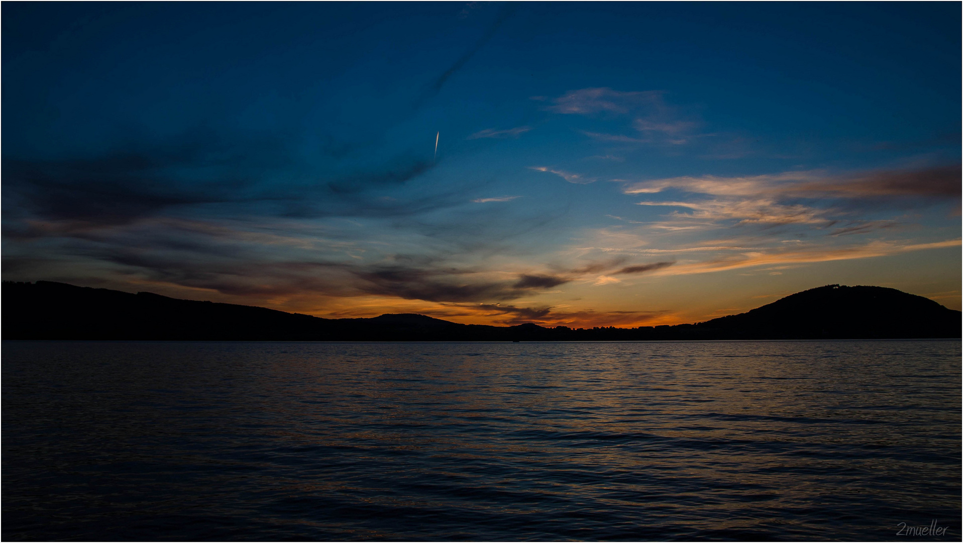 Abends am See (II)