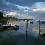 Abends am See in Radolfzell