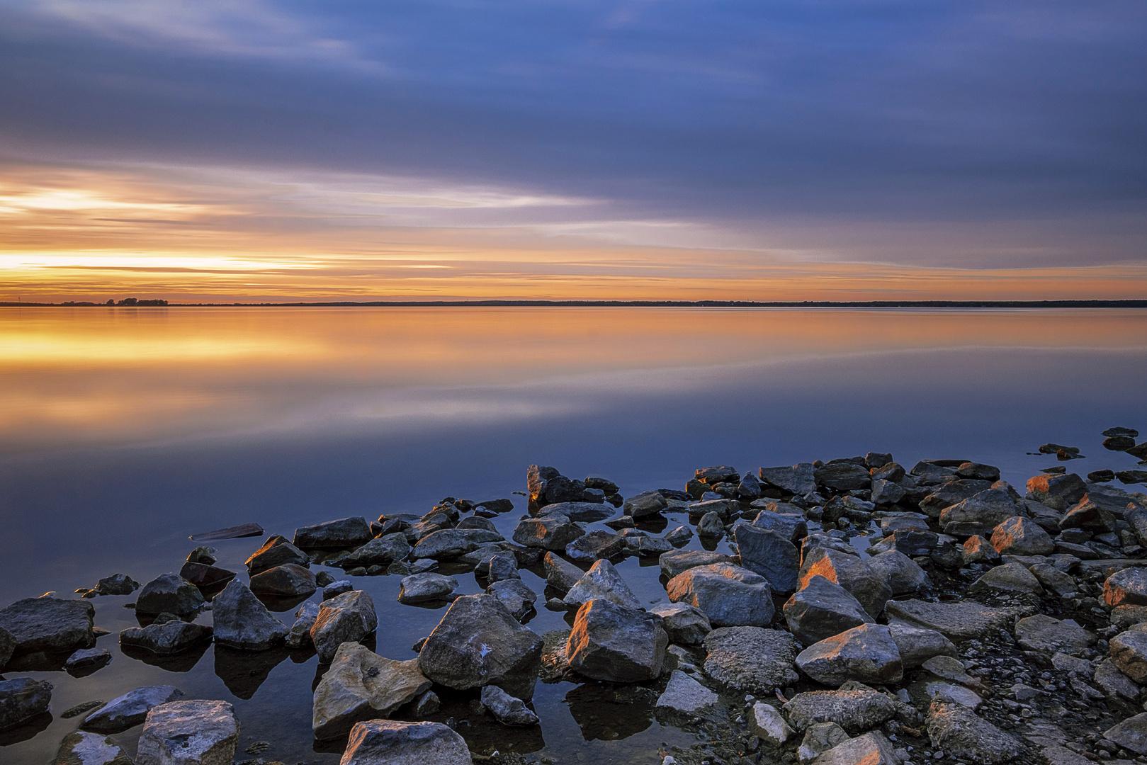 Abends am Steinhuder Meer